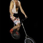 Brice Pezon, monocycle burlesque